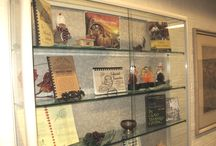 """""""Booksnucopia"""" / The books displayed in our latest exhibit is a part of our larger collection of cookbooks that will keep you entertain throughout the fall."""