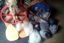 Spinning wheels / Some pictures of my wheels / by Pauline Haworth