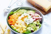 [Food] Fraîcheur / C'est le printemps, les températures remontent et quoi de mieux que de déguster de bonnes salades ou des smoothies frais ! Découvrez toutes nos recettes spéciales beaux jours