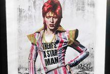 Dead famous series / Mr.Sly urban art