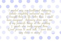 Lemon Pie Customers / Lovely words from my customers along with some of their designs x