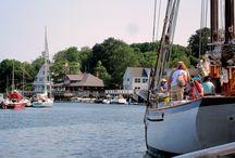 Maine...east coast towns
