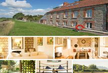 """Riverside Cottage  - Somerset / Sleeps 12 with hot tub in this stylish """"Boutique"""" retreat"""