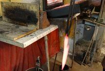 Workshop / Oto mój warsztat, kilka prostych zdjęć, aby poczuć się trochę w innym świecie. Knifemaker'a