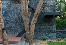 landscape and architecture details