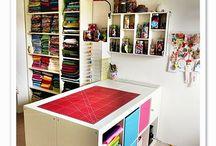 Sewing spacees / Nähzimmer