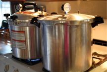 Canning / How to preserve fruit with a Water Bath or Vegetables, Meat, Fish and other products with a Pressure Canner.
