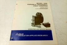 Operation & Instruction Manuals for sale at BMI Surplus / Make BMI Surplus your #1 source for brand name used and new Product Operation & Instruction Manuals.  We have a huge inventory of Manuals for sale!