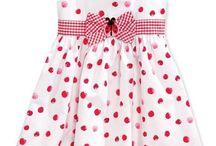 šité dievčenské šaty