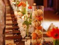 Centrotavola matrimonio - Wedding centerpieces / Idee per centrotavola - Centerpieces inspiration