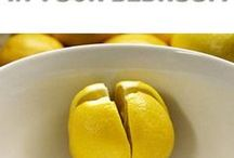 Lemons for refreshing rooms
