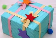 Gift boxes and deco ideas