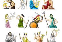 Griechische Götter Modelle