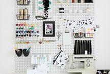 Kreativt kontor studere/jobb/hjemmekontor