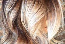 Balayage cheveux courts