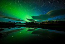 ciel / étoiles / aurores boréales