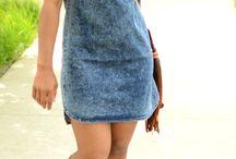 sandalia romanas y vestido Jean