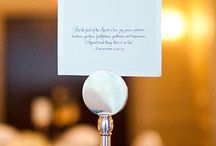 Wedding Table Markers & Escort Cards