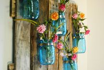 Fun Mason Jar Uses & DIY ideas / by WallPops Wall Decals