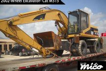 WHEEL EXCAVATORS / Good and Affordable Cat Excavators for Sale or Rent. In Addition, Get World-Class Support for Caterpillar Excavator Transport, Inspection, Dismantling, and Shipping.