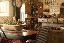 Primitive Country Home Decorating Ideas / Primitive Country Home Decorating Ideas