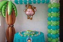 Decoraciónpara salónde fiestasinfantiles  / Ideas para decorar un salón de fiestas