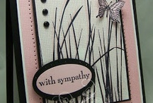 Sympathy cards / by Christine Tuff