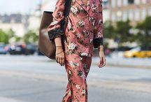 Pajama Fashion Street Style