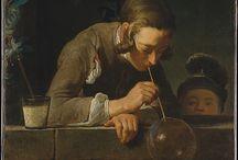 arte - Jean Simeon Chardin (1699-1779) / arte - pittore francese