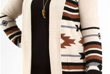 Plus size Aztec Sweaters / by Steph Zimmerman