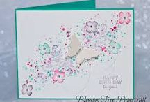 Butterfly cards - Stampin'Up / card ideas