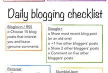 | Blogging tips |