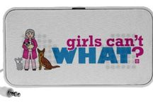 Girls Can't WHAT? Veterinarian / The place for veterinarians and vet techs fans to find the most popular Girls Can't WHAT? veterinarian gear.