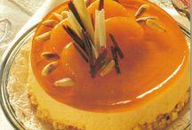 Cheesecake με ζελέ πορτοκαλιού