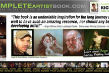 The Complete Artist Book Testimonials / Here are what artists, photographers and industry professionals say about www.TheCompleteArtistBook.com