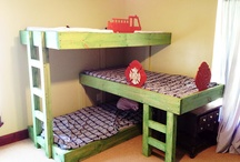 Bunk Bed Ideas / by Katherine Berend