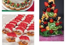 Christmas snacks / Ideas for Christmas snacks and foods for parties
