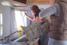 RV kitchen remodelling