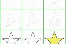 Come disegnare una stela