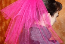 Hens night veils