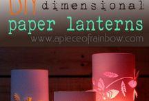 papir lampe