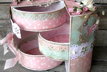 Altered Boxes and Tins