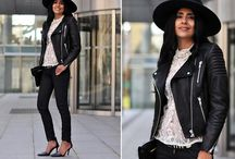 Moto jacket outfits inspiration