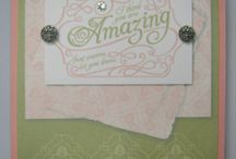 Lovely Romance - Stampin' Up Set MDS / Cards created with the Lovely Romance set in Stampin' Up's My Digital Studio