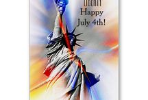 SmudgeArt 4th July - Independence Day / Celebrate the 4th of July - Independence Day with sending these lovely designs to family and friends.