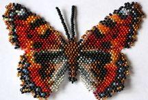 butterfly beadwork