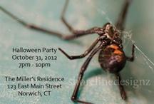 Halloween Theme / Custom designed Halloween theme invitations. I can personally these invitations any way you like. I create it, you print it. / by Karen Dayton