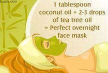 coconut face masks