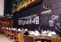 Garden & Industrial Restaurant Inspiration / Inspiration for garden restaurant