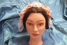 My Etsy Shop - Southern Serendipity - Come & Shop! / Headdresses, caps, jewelry, ribbon hairnets......fun items for your 1860s Victorian impression.   www.etsy.com/shop/southernserendipity